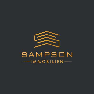 Immobilien-Logo für Immobilienbüro - Immobilien-Logo Beispiel