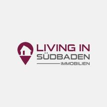 Unternehmen, das Vermietung und im Verkauf von Immobilien anbietet sucht Logo.
