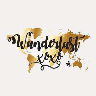 Blog-Logo für Wanderblog - Blog-Logo-Design Beispiel