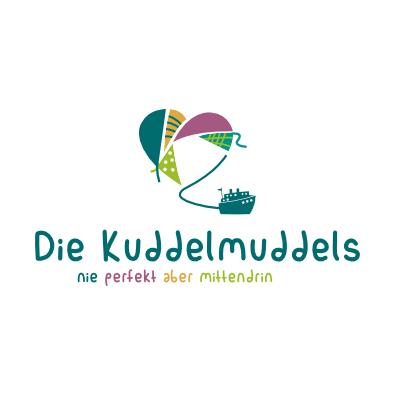 Blog-Logo für Kuddelmuddels - Blog-Logo-Design Beispiel