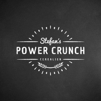 Logo-Design für Powercrunch - Logo-Design Beispiel