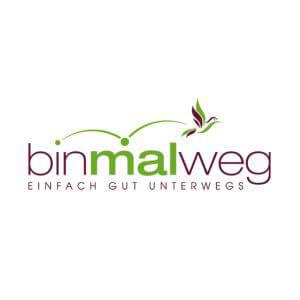 Logo-Design für bin-mal-weg.de