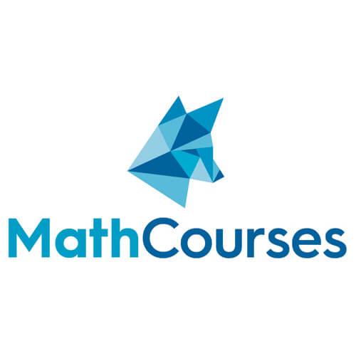 Logo-Design für MathCourses - Vorbereitungskurse für Prüfungen