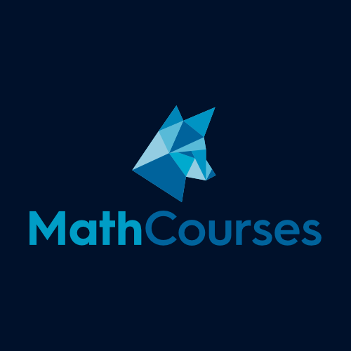 Logo-Design für MathCourses