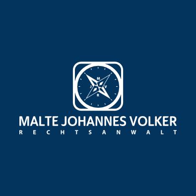 Logo für Rechtsanwalt Volker - Anwalts-Logo-Design Beispiel