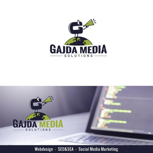 Logo & Social Media Design für Gajda Media Solutions