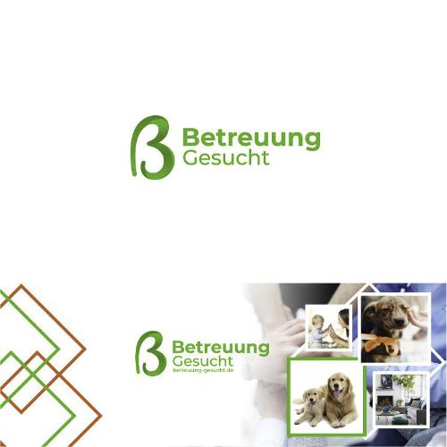 Logo & Social Media Paket für Vermittlung von Betreuungen