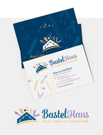 Logo- und Visitenkarten-Design