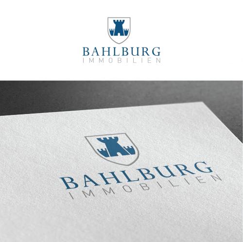 Logo & Visitenkarte für Bahlburg Immobilien
