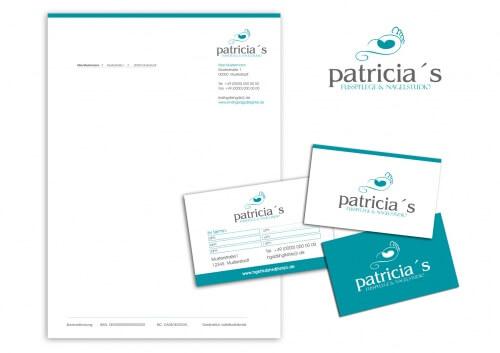 Patricia´s Fußpflege & Nagelstudio sucht Logo & Visitenkarte