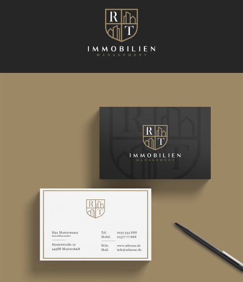Logo Visitenkarten Design Individuell Gestaltet