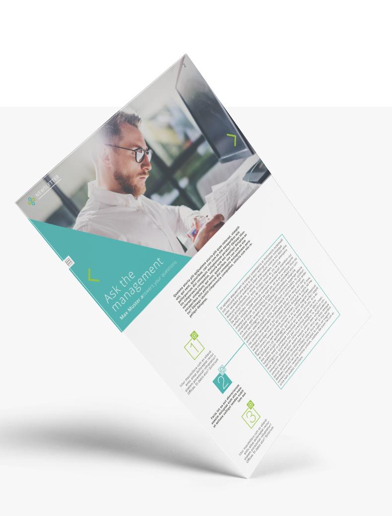 Newsletter-Design für Alyne - Newletter-Design Beispiel