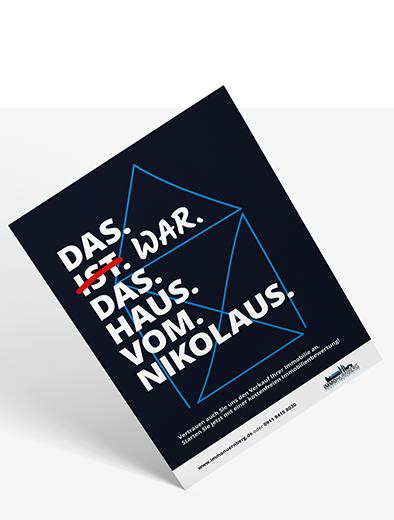 Plakat-Design für Immobilien - Plakat-Design Beispiel