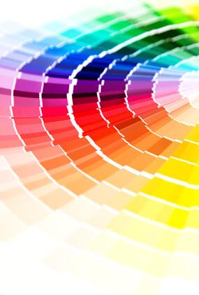 Plakat-Design Farbgebung