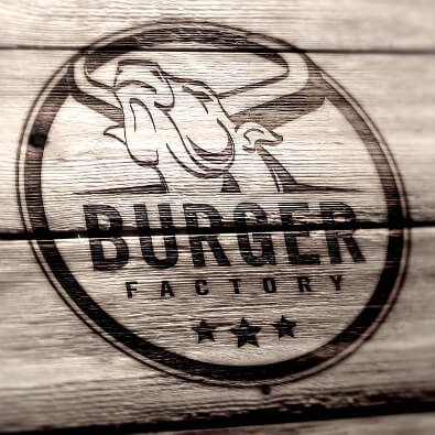 Logo für Burger Bar - Restaurant Logo-Design Beispiel