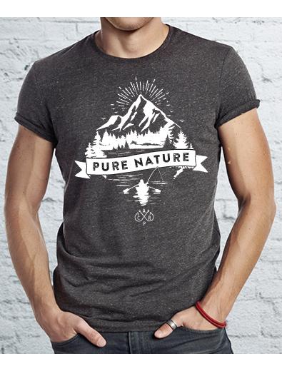 T-Shirt-Design für Angler - T-Shirt-Design Beispiel
