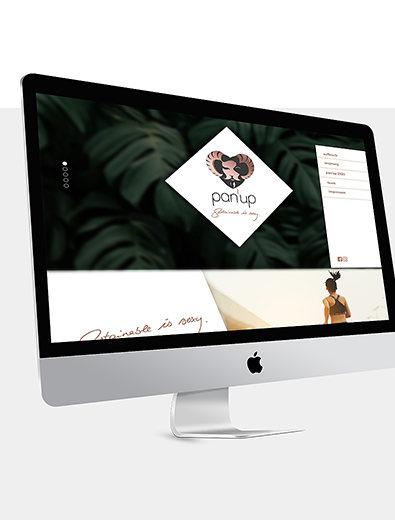 Webdesign für Agentur - Web-Design Beispiel