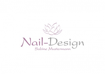 logo 827448 naildesign nagel kosmetik kosmetikstudio nagelstudio. Black Bedroom Furniture Sets. Home Design Ideas
